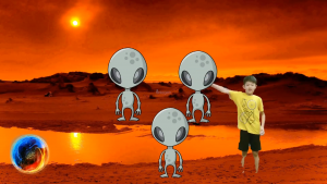"""Sample Student Project: """"To Mars We Go"""" Holographic AR Project by Andrew L."""