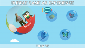 How to make the Holographic AR Bubble Game by Tina Ye