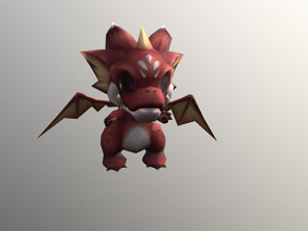small dragon animation