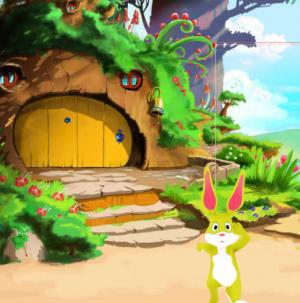 3D Rabbit (Yellow)