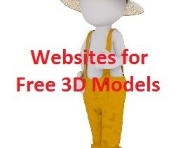 Where to find and download free 3D models