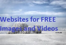 Websites for free high quality images and videos