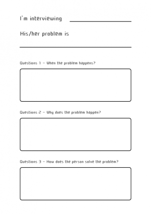 Young Engineer Interview template