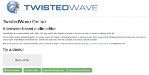How to edit music using Twisted Wave