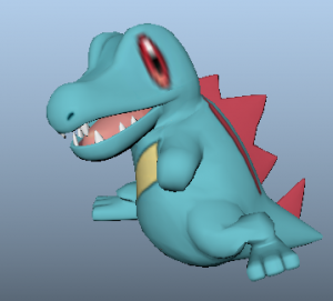 Totodile_Punch