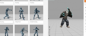 Combine Multiple 3D Animations Into One File
