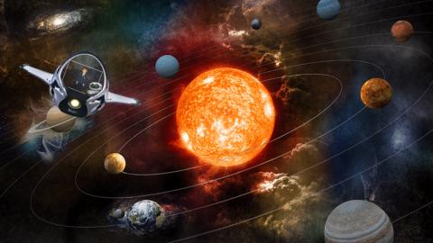 Solar System Sample Project: Sun