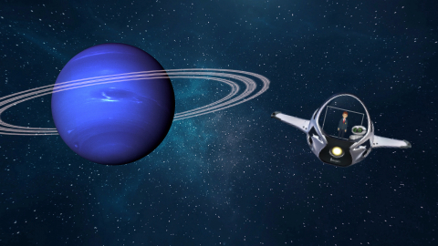 Project: Solar System_Neptune(No Audio)