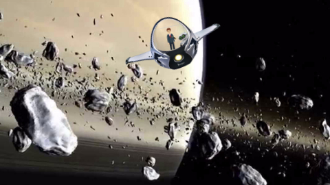 Solar System Sample Project: Saturn