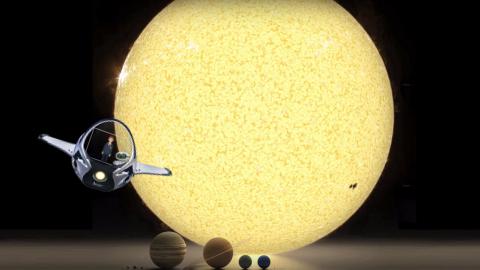 Solar System Sample Project: Sun 3