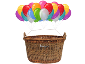 balloon ride with basket